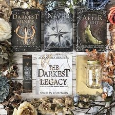 Have you read #thedarkestminds books? I have read the first two years ago but really need to do a reread. Bookmark was in the last @shelflovecrate Did you see their April box is up? Use MFAF10 to save. The adorable bookish fund jar was in a past @illumicrate Use KRIS10 to save on your subscription. #neverfade #intheafterlight #alexandrabracken #thedarkestlegacy #dystopianbooks