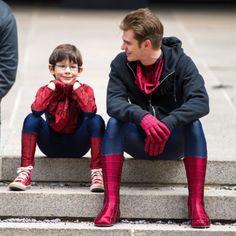 """""""O Espetacular Homem-Aranha 2″ ganha novas imagens do set de filmagens  http://cinemabh.com/imagens/o-espetacular-homem-aranha-2-ganha-novas-imagens-do-set-de-filmagens  O #Espetacular #Homem-Aranha 2"""