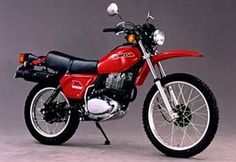 Honda XL 500 S Great bike, rode to Mombasa from Nairobi on one of these!