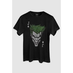 Camiseta DC Comics The Joker Card bandUP! - Preto