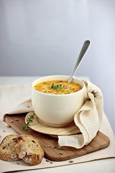 Creamy Kohlrabi Carrot Soup