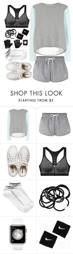 """""""don't quit"""" by semmaos ❤ liked on Polyvore featuring adidas, NIKE, Henri Bendel, Victoria's Secret, Calvin Klein, H&M and Casall"""