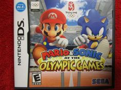 Mario & Sonic The Hedgehog at the Olympic Games  (Nintendo DS, DSI, 2DS, 3DS)  #Nintendo #DS #DSI #2DS #3DS #NDS