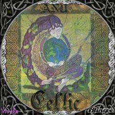 Celtic God Anu Mother of all Gods