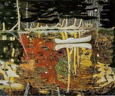 Peter Doig (Scotland b 1959) Swamped 1990