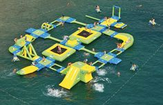 Wibit Sports Park: Your Own Inflatable Adventure Island! Amazing!!!!!