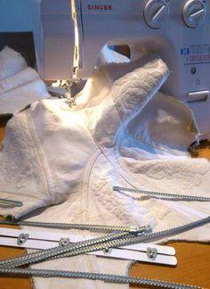 Corset making. Arco Atelier. www.arcoatelier.com