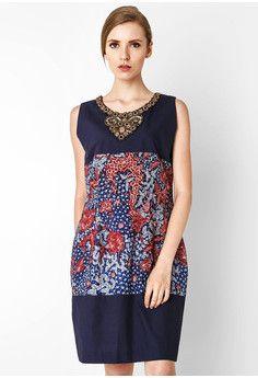 Dress Kombinasi Katun Tulis Lasem Batik Kebaya, Batik Dress, African Fashion Dresses, African Dress, Batik Fashion, Crochet Jacket, Fashion Beauty, Womens Fashion, Office Fashion