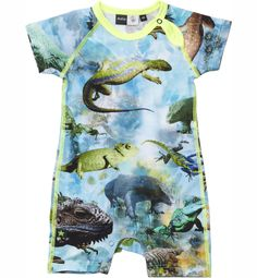 Lizard bodysuit by Molo Kids / CozyKidz.net