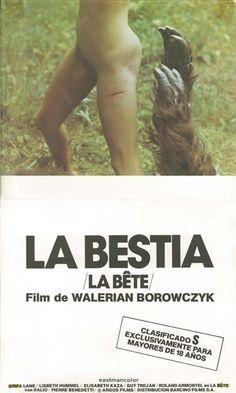 """La bestia (1975) """"La bête"""" de Walerian Borowczyk - tt0072752"""