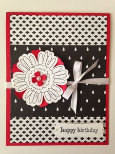 Stampin' in the Sun!: Happy Birthday using ""