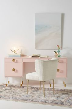 Lacquered Regency Desk | Anthropologie