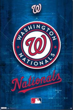 Washington Nationals Logo 2011 Poster  22x34 poster  $6.99