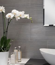 10 Spa Bathroom Design Ideas Grey TilesEnsuite