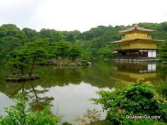 Kinkaku-ji - Golden Pavilion The Golden Pavilion in Kyoto is literally covered in gold leaf http://www.gojapango.com/travel/golden_pavilion.html