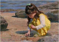 Volegov.com :: MOMENT OF DISCOVERY, painting,