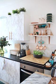 Die 596 besten Bilder von Küche Deko in 2019   Open plan kitchen ...