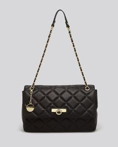 93a9ce80a0e DKNY Shoulder Bag - Gansevoort Large Quilted Nappa Handbags - Bloomingdale s