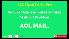 How To Make Unlimited Virtual USA Number Verified AOL Mail and all Probl...