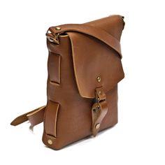 922c426ceed5 Дизайнерская сумка в стиле Crossbody в подарок для мужчин выполнена из  тонкой кожи премиум класса шоколадного