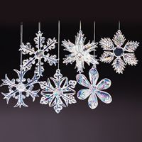 Glass Icicles Christmas Ornaments Hand Blown Crystal Proc... https ...
