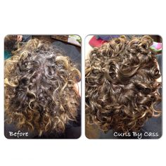 Triflectives natural grey coverage by Goldwell Hair Color. www.curlsbycass.com #curlsbycass #haircolor #SaintLouisMO #Goldwell