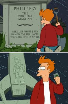 Though he can hold a grudge, he also knows how to let one go. | Everyone Deserves A Friend Like Philip J.Fry