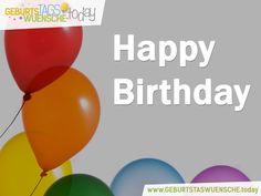 Farbenfrohe Glückwünsche zum Geburtstag