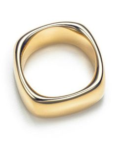 Tiffany  Co Outlet Sterling Gold Cushion Ring