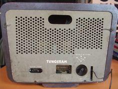 """Tungsram T352 (1944) """"Antique radio"""", """"Tube radio"""""""