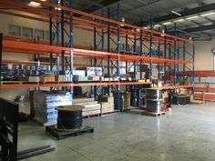 Selective Pallet Rack systems provide easy accessibility to all products at all times - important if the inventory is rapidly depleted and restocked. Pallet Racking, Pallet Storage, Racking System, Can Design, Cairns, Storage Solutions, Shelving, Times, Easy