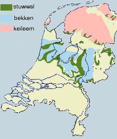 Afbeeldingsresultaat voor stuwwallen nederland