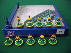 Zeugo Subbuteo Brazil team.