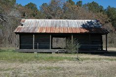 Laurens County Dublin GA US Highway 441 Refurbished Saved Dogtrot Farmhouse Vernacular Architecture Small Logs Picture Image Photo © Brian Brown Vanishing South Georgia USA 2012