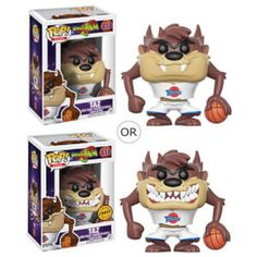 Taz goes Pop! Get ready to jam! Get ready for the ultimate game with a familiar character from Space Jam. This Space Jam Taz Pop! Vinyl Figure measures approximately 3 tall and comes packaged in a window display box. Ages 3 and up. Space Jam, Funko Pop Figures, Vinyl Figures, Spirit The Horse, Best Funko Pop, Looney Tunes Cartoons, Figurine Pop, Movie Collection, Funko Pop Vinyl