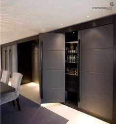 Contemporary Living - Hidden Bar from Herrington Gate