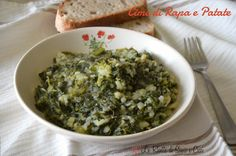 Le Cime di Rapa e Patate sono un piattomolto semplice ma ricco di gusto e sapore. Nell'entroterra campanoepiù precisamentetra Avellino e Salerno questo