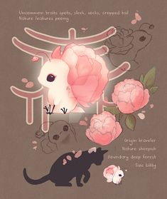 Cute Fantasy Creatures, Mythical Creatures Art, Cute Creatures, Cute Animal Drawings Kawaii, Cute Drawings, Wolf Drawings, Creature Concept Art, Creature Design, Fantasy Character Design