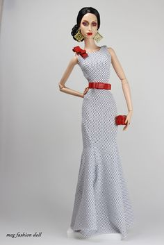 new outfit for Sybarite-FR16 'Chic VIII' / meg fashion doll / 12.15.2