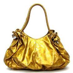 #Oversized Glossy Satchel/Handbag with Braided Handles - Colors Available #Women Handbags