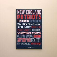 new england patriots canvas art poster gift etsy #patriots #etsy #Gift