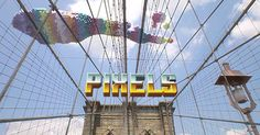 Video: Pixels By Patrick Jean - #animation #oldschool #gaming