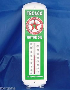 Tin thermometers on pinterest advertising tins and for 99 cent store motor oil