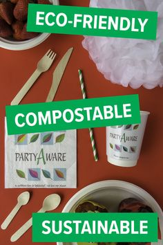 Our Planet, Footprint, Barbecue, Feel Good, Party Supplies, Eco Friendly, Picnic, Tableware, Barbacoa