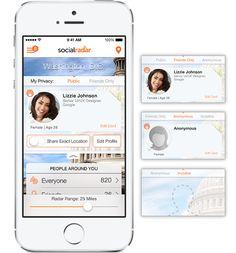 SocialRadar è una APP che ti informa in tempo reale sugli amici che si trovano nelle vicinanze.