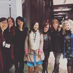 One of the highlights of my weekend was getting to catch up with these amazing women who were all in town for the Society of Children's Book Writers and Illustrators Winter Conference in NYC. Being around such talented passionate and supportive women was like refreshment for the soul. #NY17SCBWI