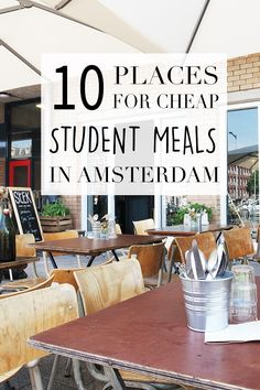 "Looking for the best student meals in Amsterdam? Check out the list on travel blog http://www.yourlittleblackbook.me to see where in Amsterdam you can eat delicious, yet affordable student dishes. Planning a trip to Amsterdam? Check http://www.yourlittleblackbook.me/ & download ""The Amsterdam City Guide app"" for Android & iOs with over 550 hotspots: https://itunes.apple.com/us/app/amsterdam-cityguide-yourlbb/id1066913884?mt=8 or https://play.google.com/store/apps/details?id=com.app.r3914JB"