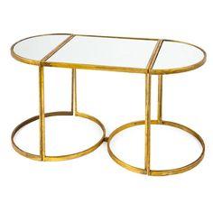 Mirrored Little Tables (Set of 3) | ZARA HOME Danmark