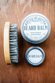 How to Make DIY Beard Balm Beard Products, Body Products, Bearded Men, Beard Grooming, Grooming Kit, Mustache Grooming, Beards, Beard Oil And Balm, Beard Balm