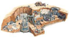 Lars homestead cutaway